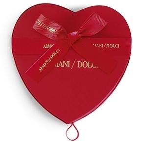 Armani/Dolci celebra o Dia de S.Valentim
