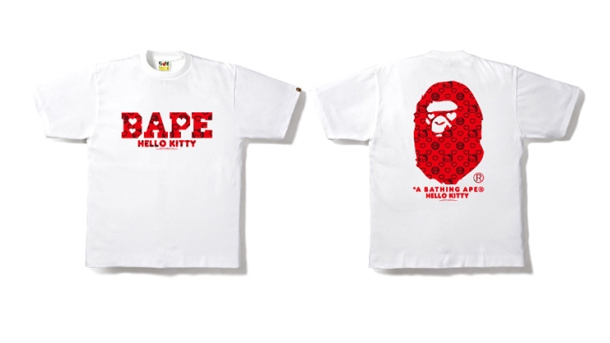 hello kitty bathing ape